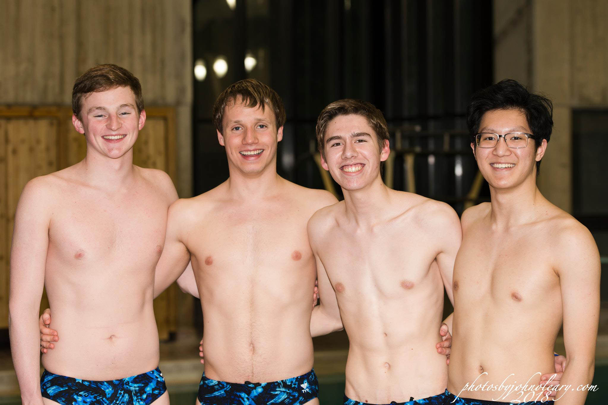 boys senior swim